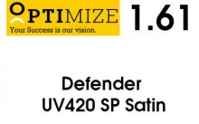 Optimize Single Vizion 1.61 Defender UV 420 SATIN